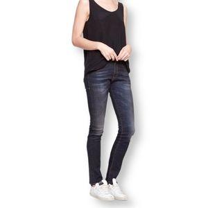 R13 Luxury Denim Skate Skinny Jeans - US 24